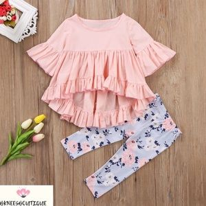 Baby Girl Fashionista Matching Outfit Set